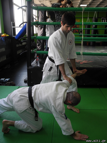 Uno Sensei (8th Dan) and Satoh Sensei's (6th Dan) seminars and Dan grading in Sofia, Bulgaria